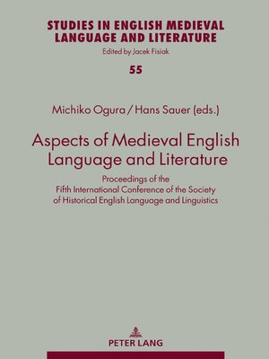 cover image of Aspects of Medieval English Language and Literature