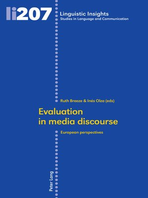 cover image of Evaluation in media discourse