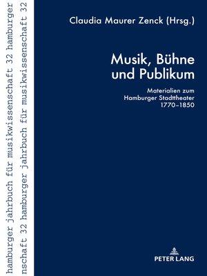 cover image of Musik, Buehne und Publikum