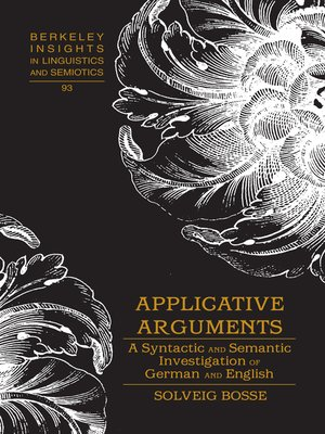 cover image of Applicative Arguments