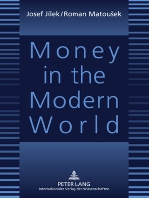 cover image of Money in the Modern World