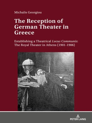 cover image of The Reception of German Theater in Greece