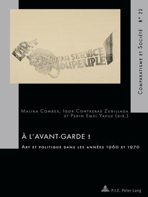 cover image of À lavant-garde !