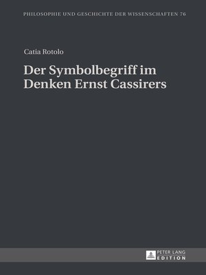 cover image of Der Symbolbegriff im Denken Ernst Cassirers