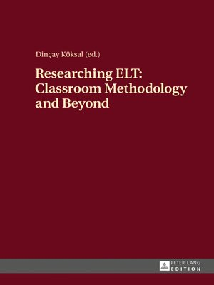 cover image of Researching ELT