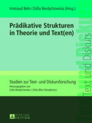 cover image of Praedikative Strukturen in Theorie und Text(en)