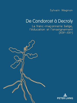 cover image of De Condorcet à Decroly