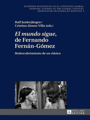 cover image of «El mundo sigue» de Fernando Fernán-Gómez