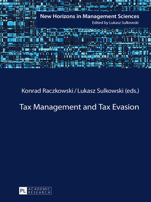 cover image of Tax Management and Tax Evasion