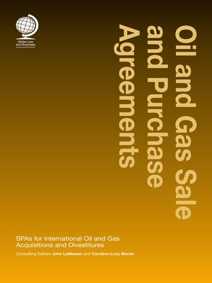 cover image of Oil and Gas Sale and Purchase Agreements