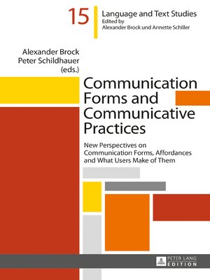 cover image of Communication Forms and Communicative Practices