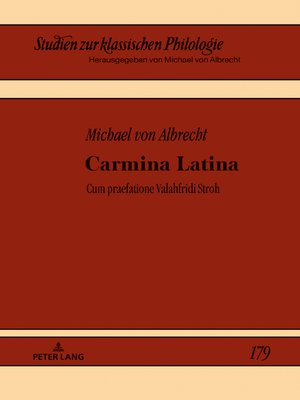 cover image of Carmina Latina