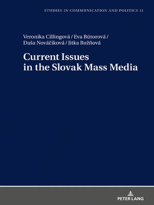 cover image of Current Issues in the Slovak Mass Media