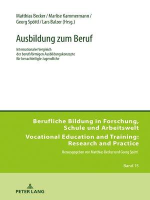 cover image of Ausbildung zum Beruf