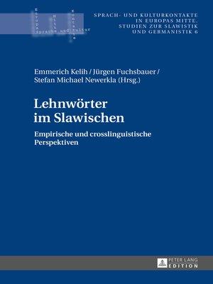 cover image of Lehnwörter im Slawischen