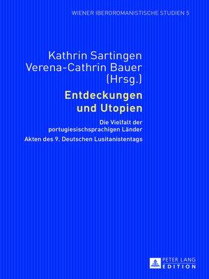 cover image of Entdeckungen und Utopien