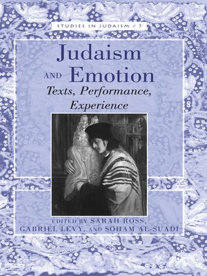 cover image of Judaism and Emotion