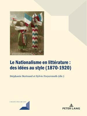 cover image of Le Nationalisme en littérature