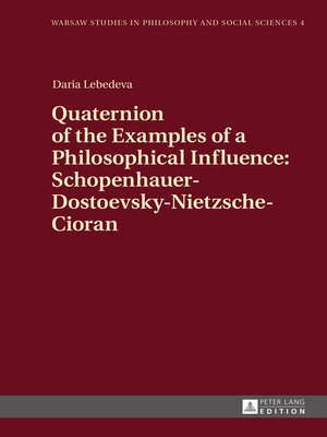 cover image of Quaternion of the Examples of a Philosophical Influence