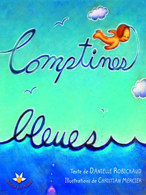 cover image of Comptines bleues