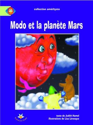 cover image of Modo et la planète Mars
