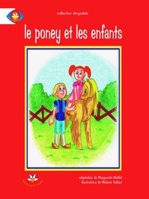 cover image of Le poney et les enfants