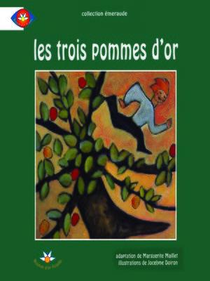 cover image of Les trois pommes d'or