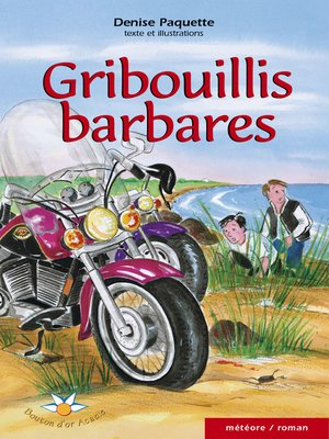 cover image of Gribouillis barbares