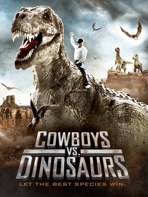 cover image of Cowboys vs. Dinosaurs