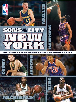 cover image of NBA Sons of the City: New York