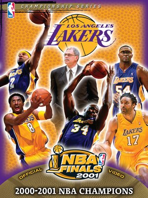 cover image of 2001 NBA Champions: Los Angeles Lakers