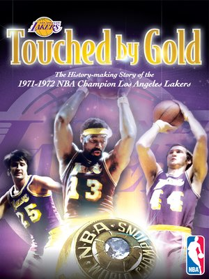 cover image of Touched by Gold: '72 Lakers