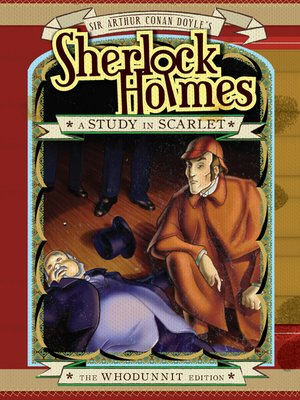cover image of Sherlock Holmes: Study in Scarlet