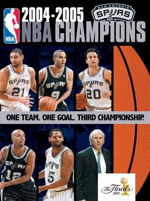 cover image of 2005 NBA Champions: San Antonio Spurs
