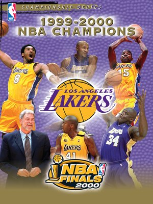 cover image of 2000 NBA Champions: Los Angeles Lakers