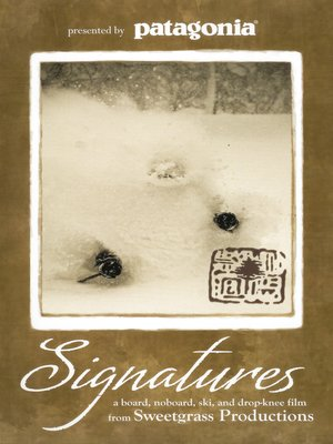 cover image of Signatures