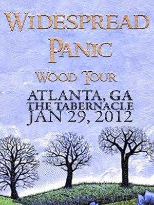 cover image of Widespread Panic: Wood Tour - Atlanta, GA The Tabernacle January 29, 2012