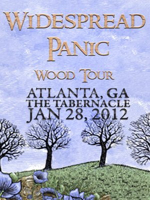 cover image of Widespread Panic: Wood Tour - Atlanta, GA The Tabernacle January 28, 2012