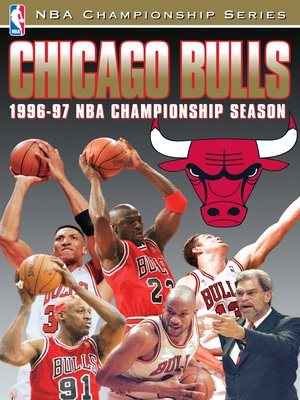 cover image of 1997 NBA Champions: Chicago Bulls