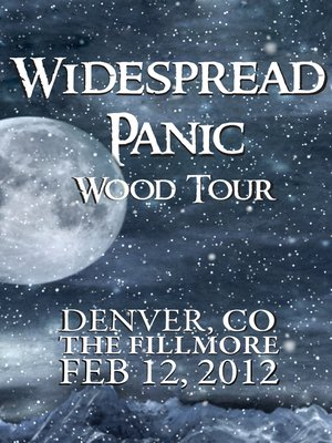 cover image of Widespread Panic: Wood Tour - Denver, CO The Fillmore February 12 , 2012