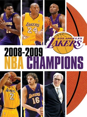 cover image of 2009 NBA Champions: Los Angeles Lakers