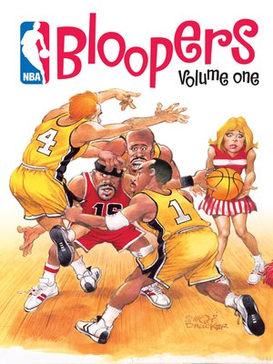 cover image of NBA Bloopers, Volume 1