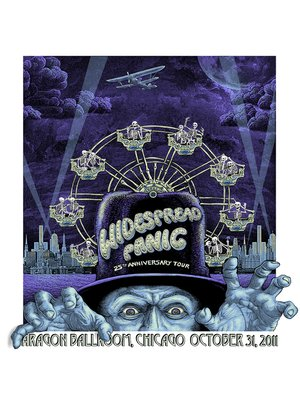 cover image of Widespread Panic: 25th Anniversary Tour - Aragon Ballroom, Chicago (October 31, 2011)