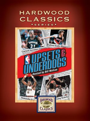 cover image of NBA Hardwood Classics: Upsets and Underdogs