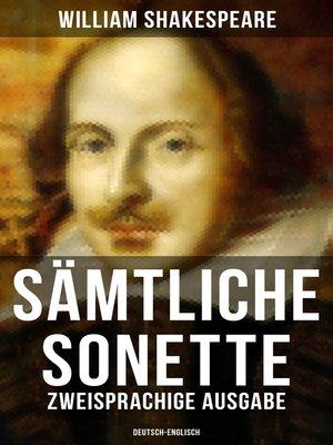 cover image of Sämtliche Sonette (Zweisprachige Ausgabe