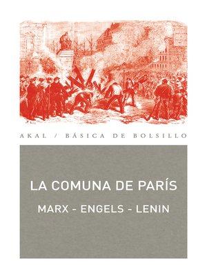 cover image of La Comuna de París