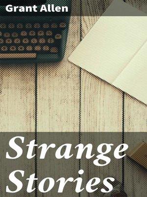 cover image of Strange Stories