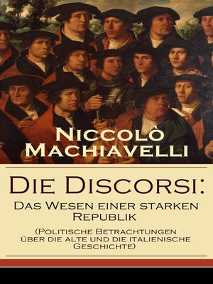 cover image of Die Discorsi