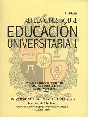 cover image of Reflexiones Sobre Educación Universitaria II