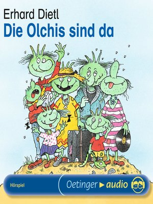 cover image of Die Olchis sind da